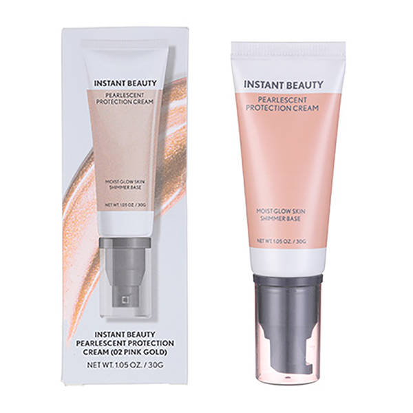 MINISO - Pearlescent Protection Cream (02 Pink Gold)